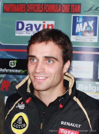 Jérôme D'Ambrosio termine ...e au Grand Prix d'Italie