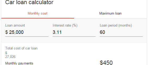 google-simulation-credit-auto
