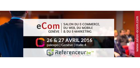 Salon eCom Genève 2016 Palexpo